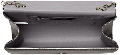 Swanky Damen Silver 5x14x21 cm Lesley Swans Clutch Silber 6r45q6w