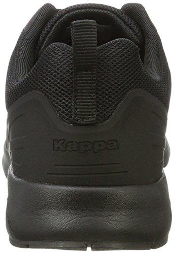 Kappa Classy, Scarpe da Ginnastica Basse Donna Nero (1111 Black)