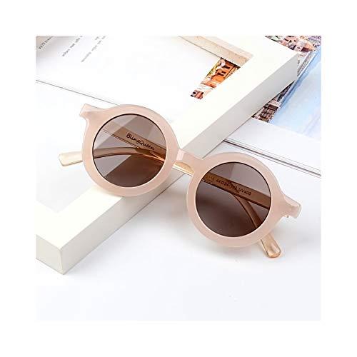 Sportbrillen, Angeln Golfbrille,NEW Fashion Kids Sunglasses Round Frame Boys Girls Sun Glasses Children Baby Eyeglasses UV400 Shades Oculos Gafas De Sol T9