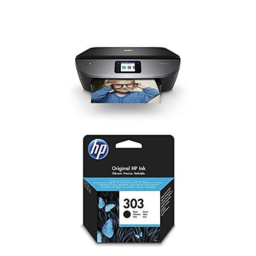 HP ENVY Photo 7130 + HP 303 Schwarz (Professional Photo Hp Printer)