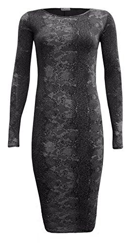 Generic Damen Schlauch Kleid SP Black