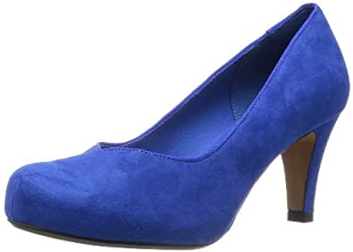 Clarks Chorus Voice 203572484 Damen Pumps, Blau (Cobalt), EU 35.5