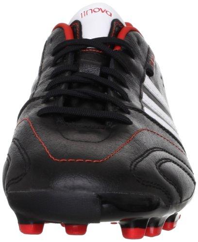 adidas 11Nova TRX AG, Chaussures de football homme Black1/Runwht/Hirere