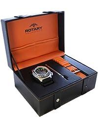 Rotary ags00061/W/Kit de hombre Aquaspeed reloj regalo setcode: ags00061/W/Kit