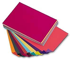 DALTON MANOR, cartoncino colorato in formato A4,dual board. Confezione da 100fogli da 180 g/m², in colori assortiti, doppio lato, con finitura opaca e lucida