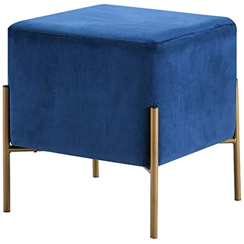 Metall-modernes Sofa (OUG Einfache Home Hocker Metall Stoff Schlafzimmer Wohnzimmer Moderne Sofa Stuhl Persönlichkeit Ändern Schuh Bank Kreative)