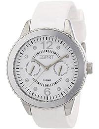 Esprit Damen-Armbanduhr marin 68 Analog Silikon A.ES105332002