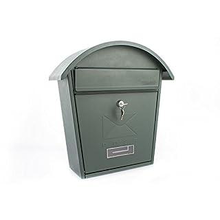 Sterling Classic 2 Post Box - Matt Green