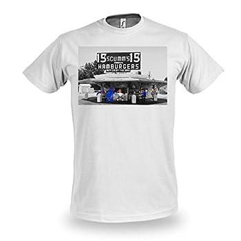 T-shirt Monkey Island Guybrush au Scumm's, pour fans de jeux vidéo - Coton - Blanc - XL