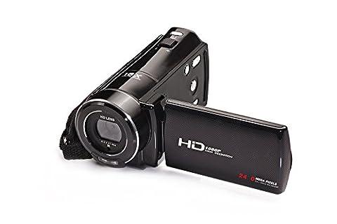 Stoga V7 1080P Full HD Digital Camera 24MP 16X Digital Zoom Video Camera with 3.0 Inch Rotatable LCD Screen