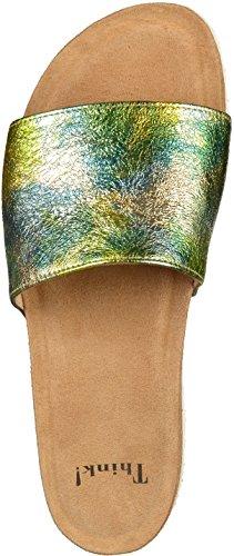 Think Bluza_282321, Sandali a Punta Chiusa Donna Multicolore (Sun/kombi 07)