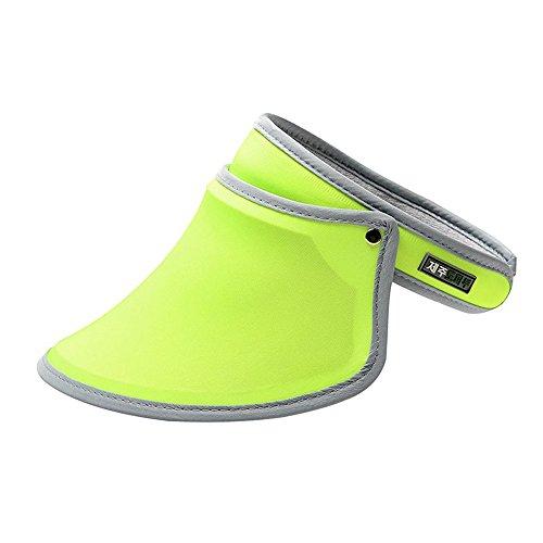 Sonnenblende im Freien, Damen Sport Ausrüstung UV Schutz Mode Sonnen Kappe / UPF 50+ Identifizierte Mädchen Sommer Freizeit Hut für Radfahren Laufen Reisen Bergsteigen Angeln und Täglichen Gebrauch -
