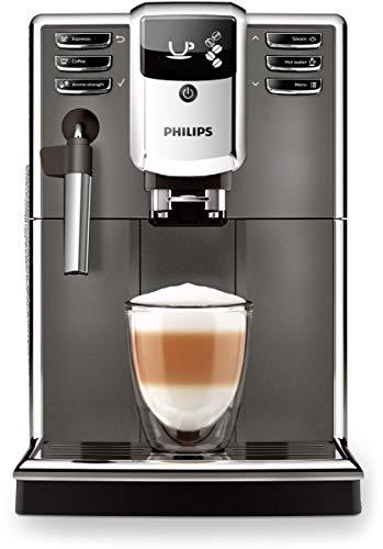 Philips Serie 5000 Kaffeevollautomat, Kaffeeautomat mit 3 Getränken, Milchaufschäumer, klassisch,...