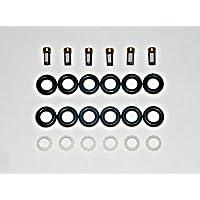 Kit de reparación de inyector de Bosch para sellos de pinceles de 6 cilindros universales 0280155 0280156