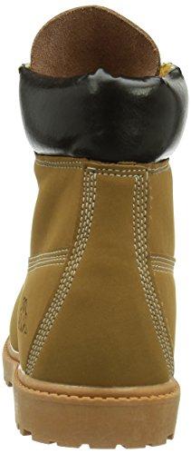 Kappa Kombo Mid Footwear Unisex, Synthetic/Leather, Baskets hautes mixte adulte Multicolore - Mehrfarbig (4150 BEIGE/BROWN)