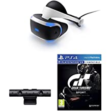 Casque PlayStation VR + Caméra + Gran Turismo Sport - Edition Day One