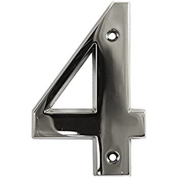 Building 10cm SCREW on House No 279 Stainless Steel House Numbers Door