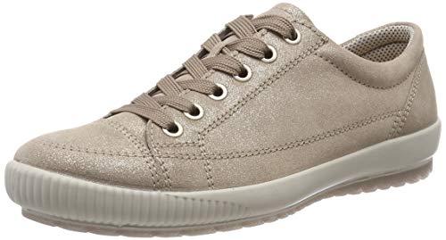 Legero Damen Tanaro Sneaker,Beige (Cerbiatto (Beige) 45), 42 EU (8 UK) - Damen Leder Halbschuhe Schuhe