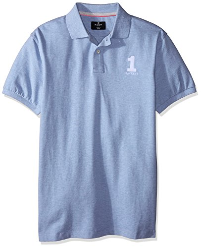 HACKETT LONDON Herren Poloshirt New Classic Blau
