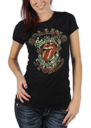 Rolling Stones, The -  T-shirt - Uomo nero