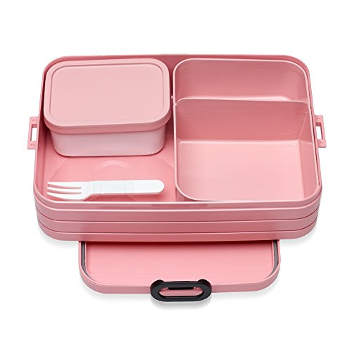 Mepal Bento Lunchbox Take a Break Large - Nordic Pink, TPE/pp/abs, 0 mm