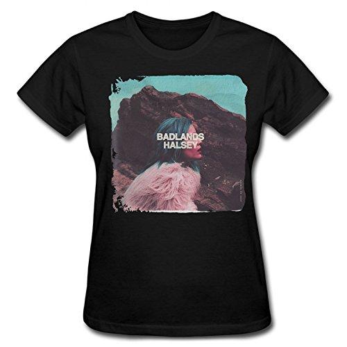 Yrewer Women's Halsey Badlands Album T Shirt