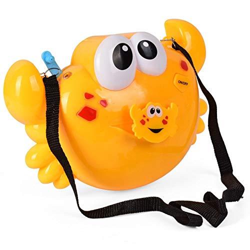 ble mit Bubble-Maschine, Musik-Blase, elektrische Bubble-Maschine, Säuglingsbadewanne Kinder baden Baby Badewanne Dusche Wasser Spielzeug, geben Sie Ihre Gurte, spielen Sie im Frei ()