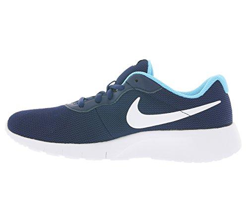 Nike Youth Tanjun Mesh Trainers Black Blue