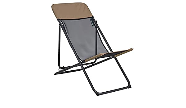 Decathlon Quechua Relax Chaise De Camping Marron Amazon Fr Sports Et Loisirs