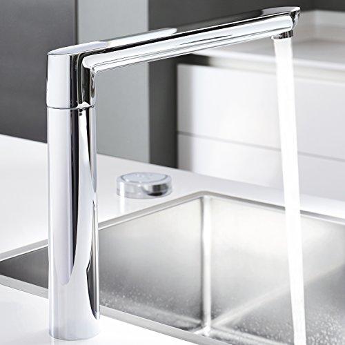 GROHE K7 F7-Digital mit Wasserstrahl