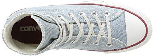 Converse Ctas Core Hi, Baskets mode mixte adulte Light Bleue Denim Washed