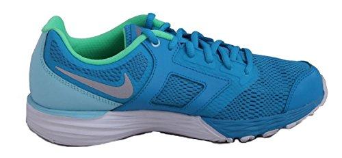 Nike Mädchen Tri Fusion Run (Gs) Laufschuhe Azul / Plateado (Blue Lagoon / Metallic Silver-Cp)