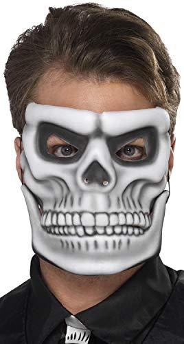 r Herren und Damen, mit beweglichem Kiefer, Halloween-Tag der Toten, Gruselkostüm, Kostüm, Kostüm-Accessoire ()