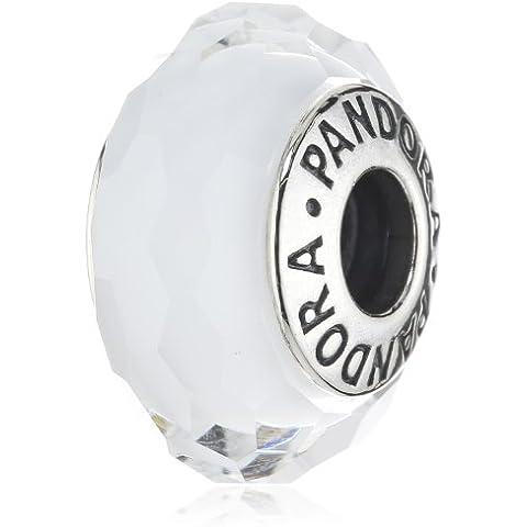 Pandora 791070 - Abalorio de plata de ley de cristal transparente