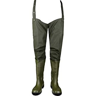 Asatex HST 47 Hip Boots, Size 12, Olive