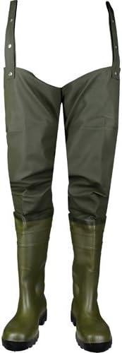 Asatex HST 39 botas de cadera, tamaño 5,5, verde