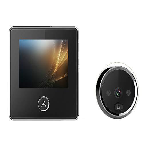 Kimmyer Drahtlose Türklingel-3.0 Zoll TFT LCD-Bildschirm 3 Millionen Professional Security HD Kamera-Night Vision Doorbell-180 Tage Long Standby Photo Funktion Professional Night Vision