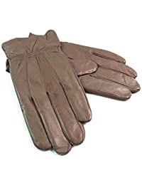 LADIES HIGH QUALITY SUPER SOFT GENUINE LEATHER GLOVES EVERYDAY WINTER DRIVING