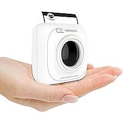 Mini imprimante instantanée Bluetooth PAPERANG P1 pour iPhone/iPad/Mac/appareils Android avec des papiers d'impression