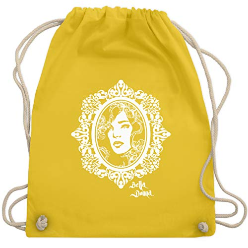 Vintage - Bella Donna - Unisize - Gelb - WM110 - Turnbeutel & Gym Bag Bohemia Blossom
