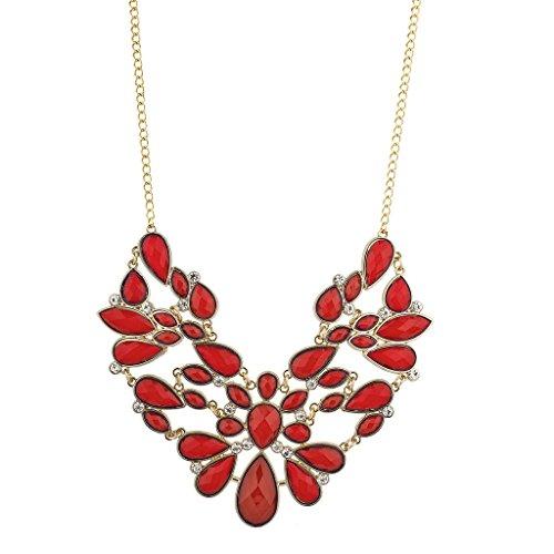 lux-accessori-motivo-floreale-colore-rosso-dichiarazione-collana