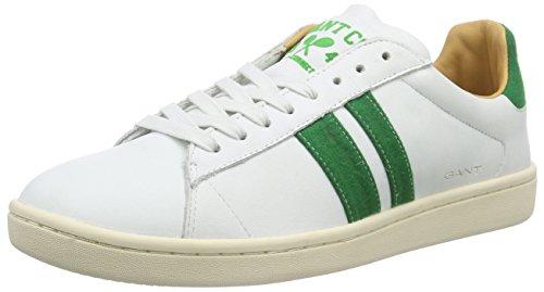 Gant Ace, Baskets Basses homme Blanc - Weiß (white G29)