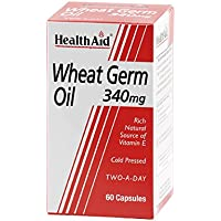 HealthAid Wheat Germ Oil 340mg - 60
