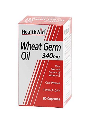 HealthAid Wheat Germ Oil 340mg - 60 Capsules