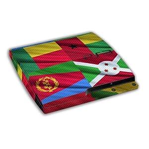 atFoliX Designfolien Flags of The World für Sony Playstation 3 Slim