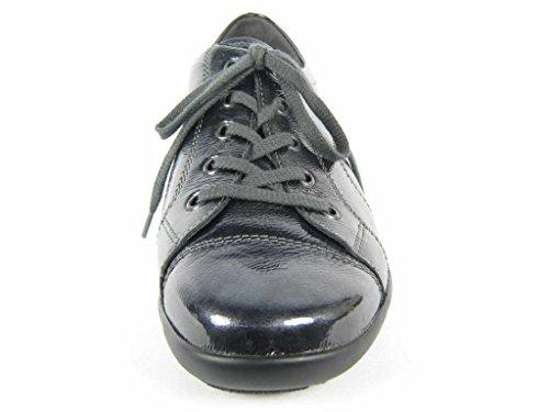 Semler  B6055051006, Chaussures de ville à lacets pour femme Gris