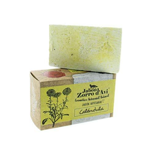 Jabón artesanal caléndula - Hidratante todo cuerpo