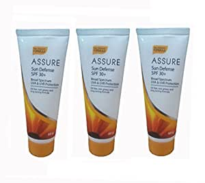 Assure Sunscreen Lotion (Pack Of 3) - Spf 30+ Pa+++(180 G)