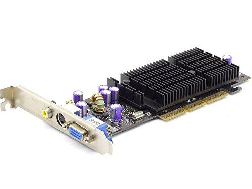 Nvidia GeForce4 MX4000-V64 64MB DDR VGA TV RCA Composite Cinch AGP Graphics Card (Generalüberholt)