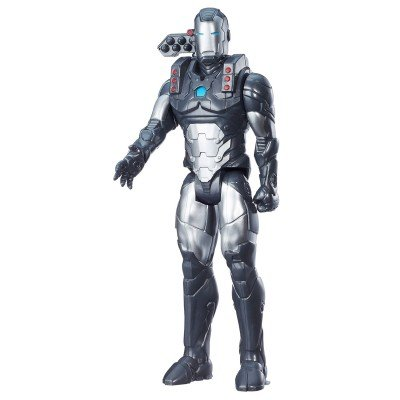 War Machine Puppe | Hasbro C0761 | Marvel Civil War | 30 cm | Titan Hero Serie